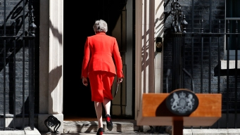 Undone by Brexit, May Steps Down as Conservative Leader