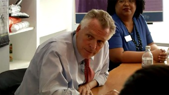 McAuliffe Personally Delivers Ex-Felon His New Voting Rights