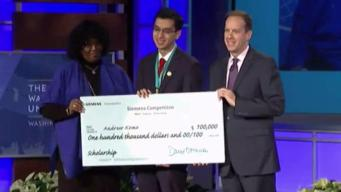 Md. Student Wins $100K Scholarship in STEM Competition