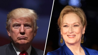 Trump Slams 'Over-Rated' Streep for Her Golden Globes Attack