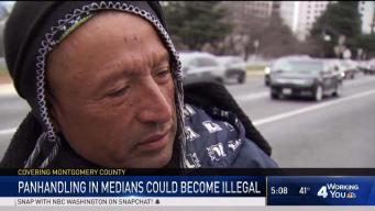 Bill Would Ban Panhandling on Medians in Montgomery County