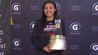 Delle Donne Presents National Player of Year at St. John's