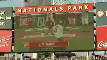 Nationals Honor Jim Vance With Moment of Silence