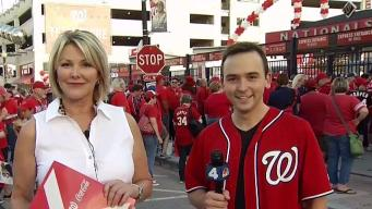 Nats Fans Burn Sage Outside Ballpark