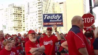 Nats Fans Pumped Up for Playoff Game