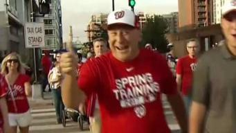 Nats Fans Travel Far to Root for the Home Team
