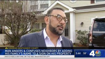 Neighborhood Sign Vandalized After Man Adds Family Name