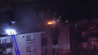Neighbors Displaced by Apartment Complex Fire