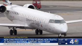 New Construction at Reagan Airport May Cause Traffic Delays