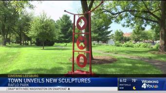 New Sculptures Debut at Park in Leesburg