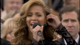 """Reports: Beyonce Sang Pre-Recorded """"Star-Spangled Banner"""""""