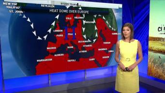 Record-Breaking Heat Wave Strikes Europe
