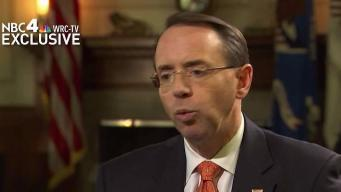 Rosenstein to Testify on Capitol Hill Wednesday