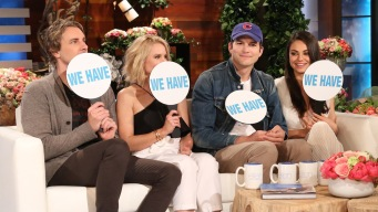 Kunis, Kutcher, Bell and Shepard Play 'Never Have We Ever'