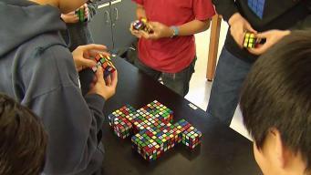 Va. Middle School Rubik's Cube Team Solves 25 in 96 Seconds