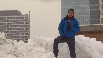Snow Piles Up in Northern Virginia