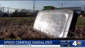 11 Speed Cameras Vandalized in DC, Police Say