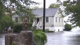 Storm Surge 6 Feet Above Normal in New Bern, NC