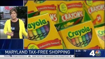 Tax-Free Week in Maryland Ends Saturday