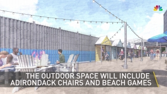 Kick Back This Summer at an Artificial 'Beach' in Rockville