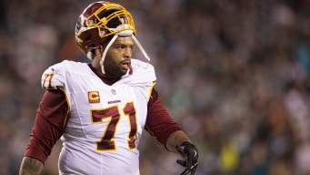 Banged-up Redskins Get Trent Williams Back at Critical Time