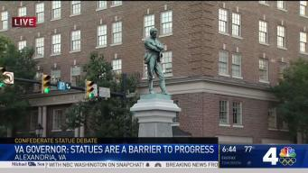 Virginia Governor Calls for Removal of Confederate Statues