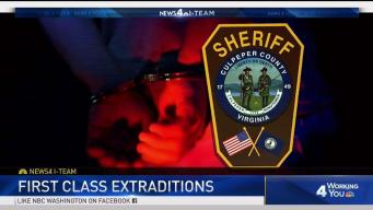 Virginia Sheriff Flew First Class for Extraditions