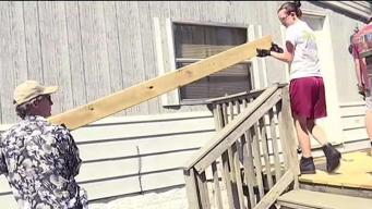 Virginia Teens Repair Houses of People in Need