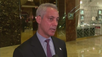 Mayor Emanuel Meets With President-Elect Trump at Trump Tower in New York