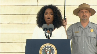 March on Washington: Oprah Winfrey