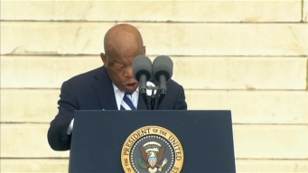 March on Washington: Rep. John Lewis