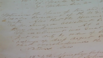 Handwritten Police Log of Lincoln Assassination Saved