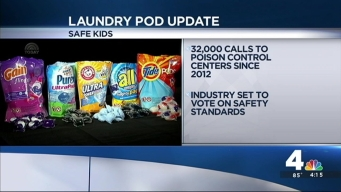 Laundry Pods Pose Dangers for Kids