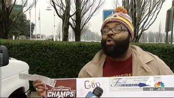 Redskins Fan's Dedication Scores Him Tickets to Playoff Game