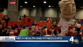 NBC4 Health & Fitness Expo Opens at Convention Center