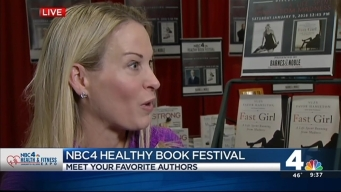 Olympian Suzy Favor Hamilton Shares Her Story at the Healthy Book Festival