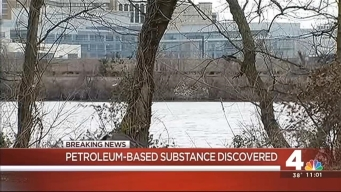 Authorities Work to ID Oily Substance on Potomac