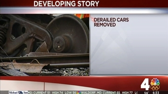 CSX: Train Derails in DC, Leaks 3 Different Chemicals