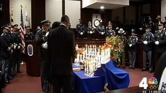 Ceremony Commemorates Fallen Prince George's County Officer