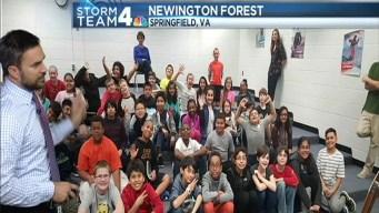 Doug Visits Newington Forest Elementary School