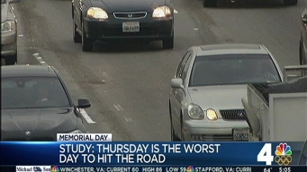 Memorial Day Traffic Rush Starts Sooner Than Expected
