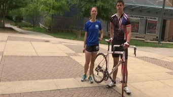 GMU Grads Bike, Jog Across America to Fight Cancer