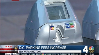 Parking Meter Fees in DC to Increase Wednesday