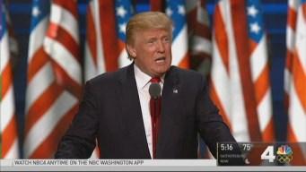 DC-Area Voters React to Trump's RNC Speech