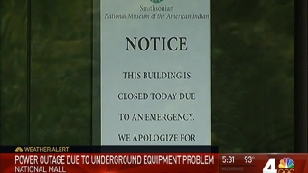 DC Museums Close Due to Power Outage