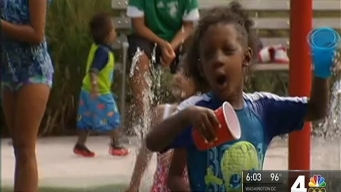 D.C. Swelters; Folks Find Ways to Beat the Heat