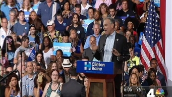 Tim Kaine, Clinton's VP Pick, Introduces Himself