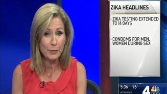 CDC Issues New Zika  Recommendations