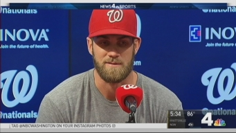 Nats' Bryce Harper Unveils Hat to Raise Money for Children With Cancer