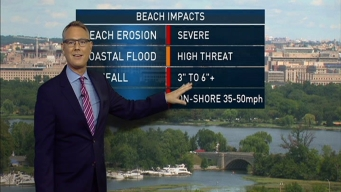 Beach Weather Forecast as Hermine Heads North